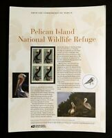 2003 PELICAN ISLAND #3774 - USPS Commemorative Stamp Panel Series #682 MNH