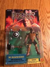 NIB HERCULES LEGENDARY JOURNEYS MESOMORPH Figure 1997 TOY BIZ MT OLYMPUS GAMES