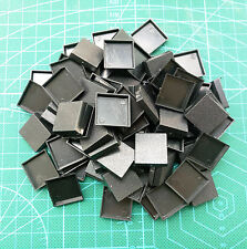 Lot-Of-100-20mm-Square-Bases-For-wargames-table games