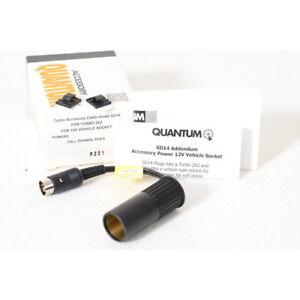 Quantum Turbo Kabel SD14 für Turbo 2X2 / KFZ Adapter Anschlußsockel ( NEU )