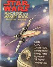 The STAR WARS PUNCH-OUT and MAKE-IT Book 1978 First Edition 32 pages MINT