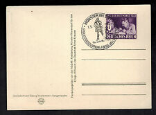 1942 Germany Stamp Day Postcard Wehrmacht Artist Soldier Cover