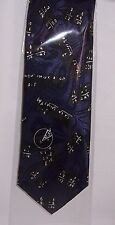 Maths equation navy Tie
