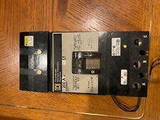 Square D Kc342001021 3 pole 200 amp 480V Shunt trip Gray Label Circuit Breaker