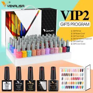 2021 new 60 fashion color Venalisa gel polish enamel nail gel learner kit