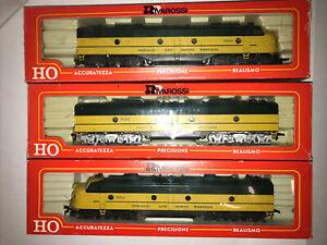 Rivarossi HO Scale Chicago & Northwestern E-8 ABA Set 1 powered 2 dummy