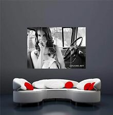 Lana DEL REY Car Seat MUSIC NUOVO GIGANTE Wall Art Print PICTURE POSTER oz291
