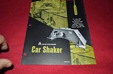 Allis Chalmers Train Car Shaker Dealer's Brochure YABE13