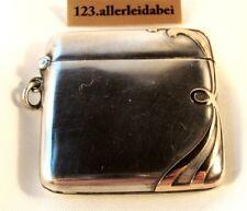 art nouveau um 1910 Streichholzschachtel 900 Silber Streichholzetui / BF 810