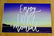 PAPERCHASE, LONDON ~ I NEED A VAY CAY POSTCARD ~ 'ENJOY EVERY MOMENT' ~ NEW