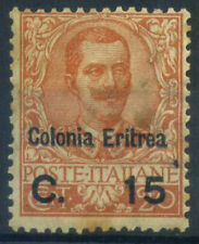Eritrea 1905 Sass. 30 Nuovo * 20% 15 c. su 20 c, Colonia Eritrea