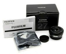 Mint FUJIFILM XF 27mm f2.8 Lens (Black) With box #31895