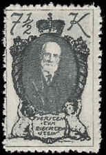 Scott # 45 - 1920 - ' Prince Johann II '; Soft Paper