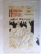 HENRY DE TOULOUSE-LAUTREC - old etching signed on original paper of 800's -