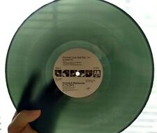Orchestral Manoeuvres OMD Forever Live And Die Green Translucent Vinyl Record