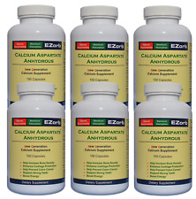 EZorb Calcium Capsules (6) Absorbs 92%, Bone Spurs, Osteoporosis, Save $26.60