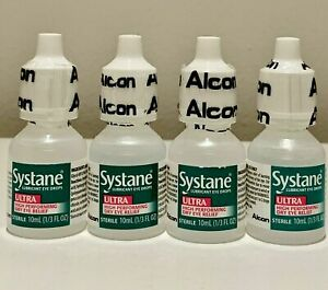 Systane ULTRA High Performing Dry Eye RelIef- 10 ml 4PK Exp 6/21+
