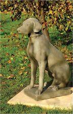 STEINFIGUR HUND Labrador Figur Steinguss Figuren Gartenfigur Bayern BLACKFORM