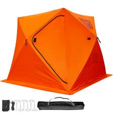 Ice Shelter 4-person Fishing Tent Accessories RoomStability Waterproof W/Bag