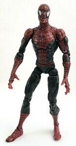 "2008 Hasbro Marvel Legends Super Poseable 6"" Spider-Man Mcfarlane Dark Version"
