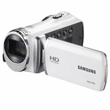 """Samsung Hmx-F90 Camcorder with 2.7"""" Lcd Screen (White)"""