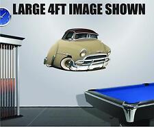 DB 1951 Chevy Belair Wall Graphic Decal Vinyl Decor Sticker Peel Stick 2ft