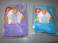 Stretchy the Ostrich & Nook the Husky Ty McDonalds Beanie Babies
