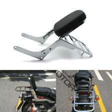 Motorcycle Backrest Sissy Bar Luggage Rack Pad for Honda Rebel 250 CMX 250 CA250