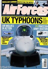 Air Forces Monthly Magazine 2014 June Warton Typhoon,Germany,P-3 Orion,Pakistan