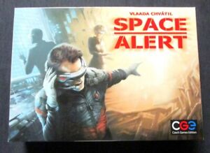 OEJ ~ Space Alert ~ Real-Time Cooperative Space Survival Board Game ~ COMPLETE