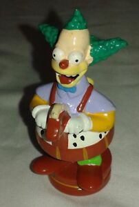 The Simpsons 3D Chess Set Replacement Krusty Red Knight Token Piece  2001 Fox