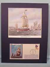 The Connecticut & Naval History of American Revolution & Commemorative Cover