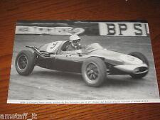 (126)=G.P. F.1 1959 BRITISH EMPIRE COOPER-CLIMAX =RITAGLIO=CLIPPING=FOTO=