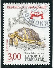 STAMP / TIMBRE FRANCE OBLITERE N° 2722 TORTUE TERRESTRE