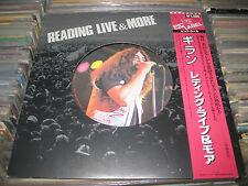 "RARE IAN GILLAN LP 12"" READING LIVE & MORE OBI JAPAN DEEP PURPLE HEAVY METAL"