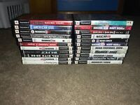 Lot of 22 Sony Playstation 2 PS2 Games