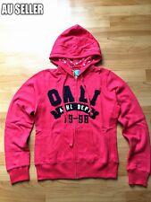 Women's Top Zip Jacket Red Hoodie Jumper Causal Fleece Pullover Sweater