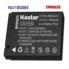 1x Kastar Battery for Panasonic Lumix DMW-BCJ13 DMC-LX5 DMC-LX7 D-Lux 5 D-Lux 6