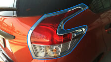 TAIL LAMP COVER CHROME FOR TOYOTA YARIS HATCHBACK 2013