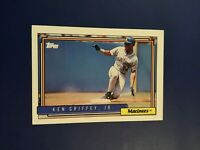 1992 Topps # 50 KEN GRIFFEY JR Seattle Mariners Baseball Card LOOK !