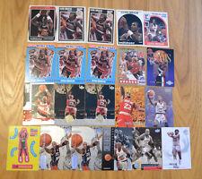 Clyde Drexler (21) Twenty-One Card Lot. Various Drexler cards 1988-2013 Inside