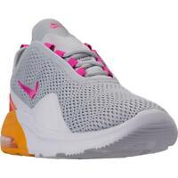 Nike Womens Air Max Motion 2 Gray Fitness Running Shoes 7 Medium (B,M) BHFO 6584