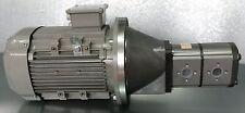 Hydraulikaggregat 21l/min + 12l/min / 4,0 KW / Motor-Pumpeneinheit Holzspalter