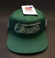 the best attitude 4db5b e0a09 San Francisco Giants Nike Snapback St Patrick s Day Green Script Vintage Hat  NWT
