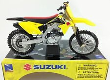 Suzuki RMZ 450 - 1:12 Die-Cast Motocross Mx Motorbike Toy Model Bike New Ray AMA
