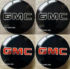 2016-2021 GMC Sierra Yukon  Wheel Caps w/ Red OR BLACK GMC OUTLINE Logo  4pcs