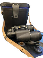 TENTO 7X50 BINOCULARS with orig Case , Color and straps MADE IN THE USSR EUC