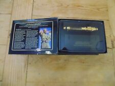 Star Wars Master Replicas Gold Mace Windu .45 Scale Lightsaber Hilt Boxed