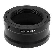 Fotodiox Objektiv Adapter für M42 Objektive auf Canon EOS-M Camera