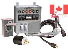 Reliance Controls 31406CWK Pro Tran 6-Circuit 30 Amp Generator Transfer Switc...